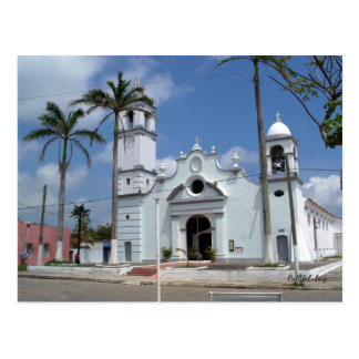 The San Miguelito Church Postcard