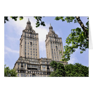 The San Remo Towers- Central Park West Card