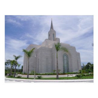 The San Salvador El Salvador LDS Temple Postcard