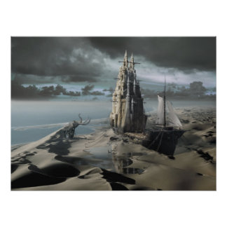 The Sand Castle Poster