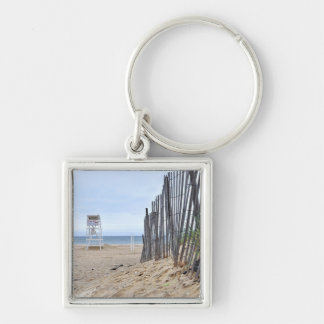 The Sand Dune Beaches of Montauk, NY Keychain