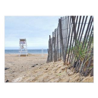 The Sand Dune Beaches of Montauk, NY Photographic Print