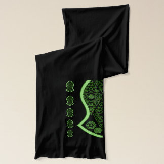 The Sandal Of The Prophet (Green) Scarf