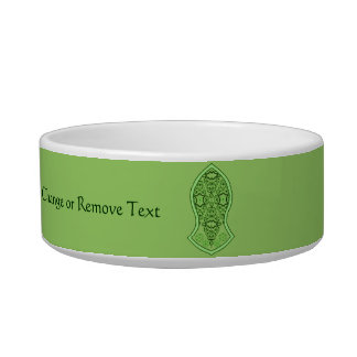 The Sandal Of The Prophet (Henna) (Green) Pet Food Bowl