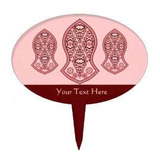 The Sandal Of The Prophet (Henna)(Red) Cake Topper