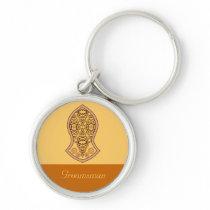 The Sandal Of The Prophet (Orange) Keychain