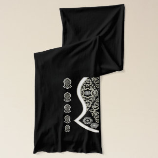 The Sandal Of The Prophet (White) Scarf