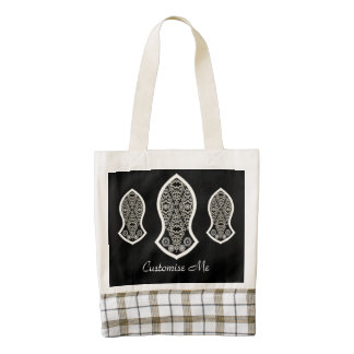 The Sandal Of The Prophet (White) Zazzle HEART Tote Bag
