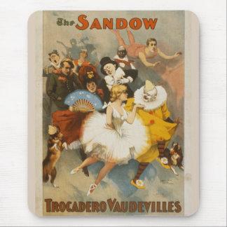 The Sandow Trocadero Vaudevilles, 1894 Poster Mouse Pads