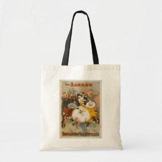 The Sandow Trocadero Vaudevilles, 1894 Poster Tote Bag