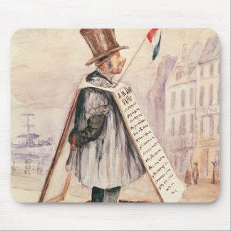 The Sandwich Board Man, Boulevard du Temple, 1839 Mouse Pad