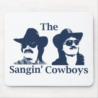 The Sangin' Cowboys Mousepad