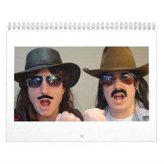 The Sangin' Cowboys Official Calendar