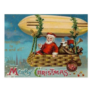 The Santa Blimp Postcard