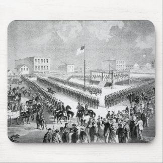 The Santee Sioux Uprising, Mankato, Minnesota, 186 Mouse Pad