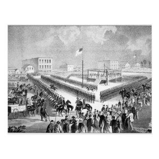 The Santee Sioux Uprising, Mankato, Minnesota, 186 Postcard