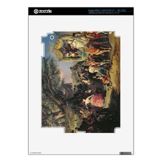 The Santiponce Fair (oil on canvas) Skins For iPad 3