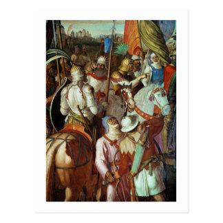 The Saracen Army outside Paris, 730-32 AD Postcard