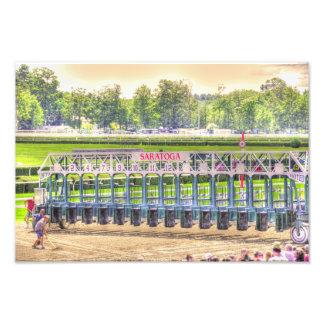 The Saratoga Starting Gate Art Photo