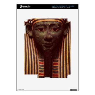 The sarcophagus of Psametik (664-610BC) detail of iPad 3 Decal