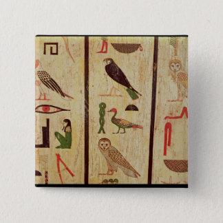 The sarcophagus of Psamtik I (664-610 BC) detail o Button
