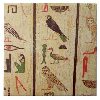 The sarcophagus of Psamtik I (664-610 BC) detail o Ceramic Tile