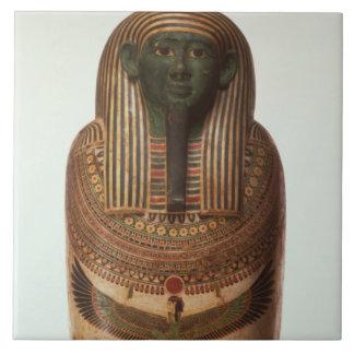 The sarcophagus of Psamtik I (664-610 BC) Late Per Tile