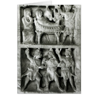 The Sarcophagus of the Nativity Card