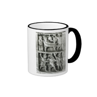 The Sarcophagus of the Nativity Ringer Coffee Mug