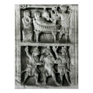 The Sarcophagus of the Nativity Poster