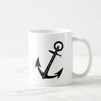 The Sardines Squad Anchor Coffee Mug