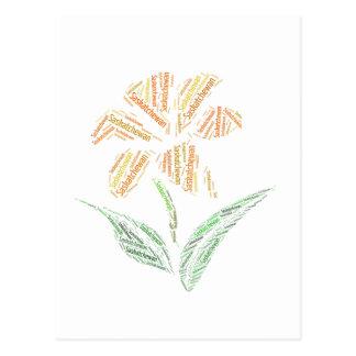 The Saskatchewan Tiger Lily Postcard