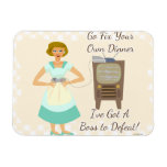 The Sassy Video Gamer 50's Housewife Magnets