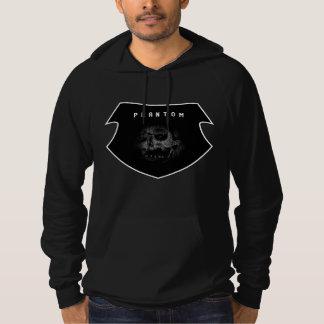 The Satan Records Phantom Crest Hooded Black Hoodie