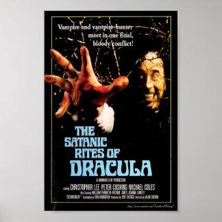 """The Satanic Rites of Dracula"" (1973) Movie Poster"