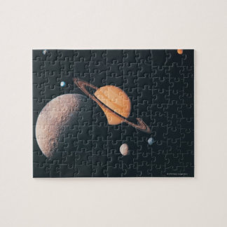 The Saturnian System Jigsaw Puzzle