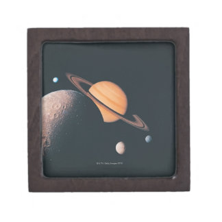 The Saturnian System Keepsake Box