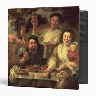 The Satyr and the Peasants 3 Ring Binder