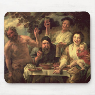 The Satyr and the Peasants Mouse Pad