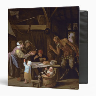 The Satyrs and the Family 3 Ring Binder