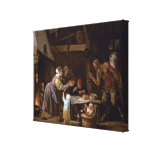 The Satyrs and the Family Canvas Print