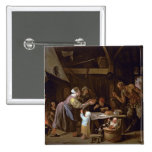 The Satyrs and the Family Pinback Button