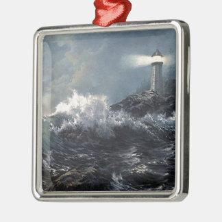 The Savior Metal Ornament