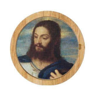 The Saviour, c.1553 Round Cheese Board