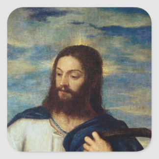 The Saviour, c.1553 Square Sticker