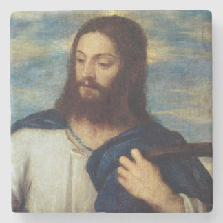 The Saviour, c.1553 Stone Coaster