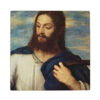 The Saviour, c.1553 Wood Coaster