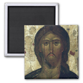 The Saviour, early 14th century 2 Inch Square Magnet
