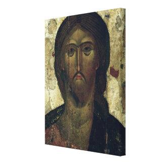 The Saviour, early 14th century Canvas Print