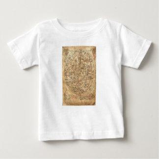 The Sawley Map Imago Mundi Honorius Augustodunensi Baby T-Shirt